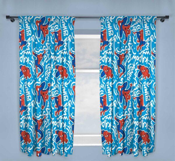 Spiderman POPART Curtains 3