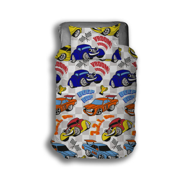 cars duvet overview