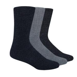 40B185_Mens_3PK_Boot_Socks_Blue