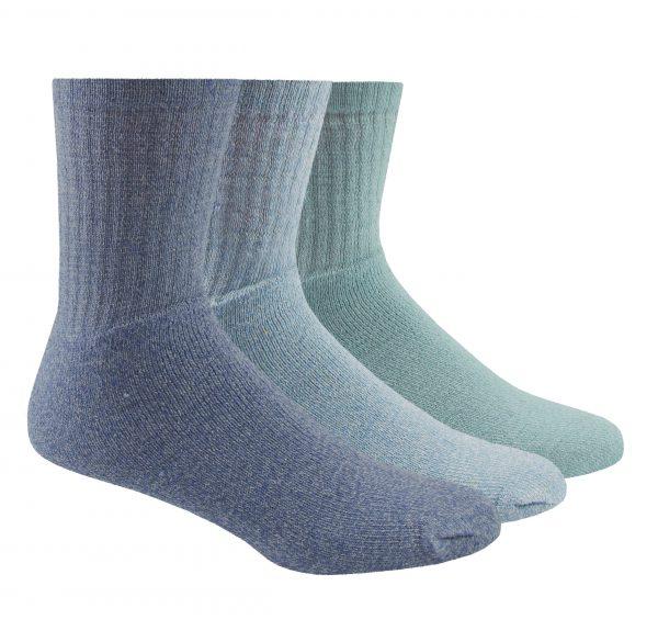 41B268_Ladies_3PK_Boot_Socks_Blue