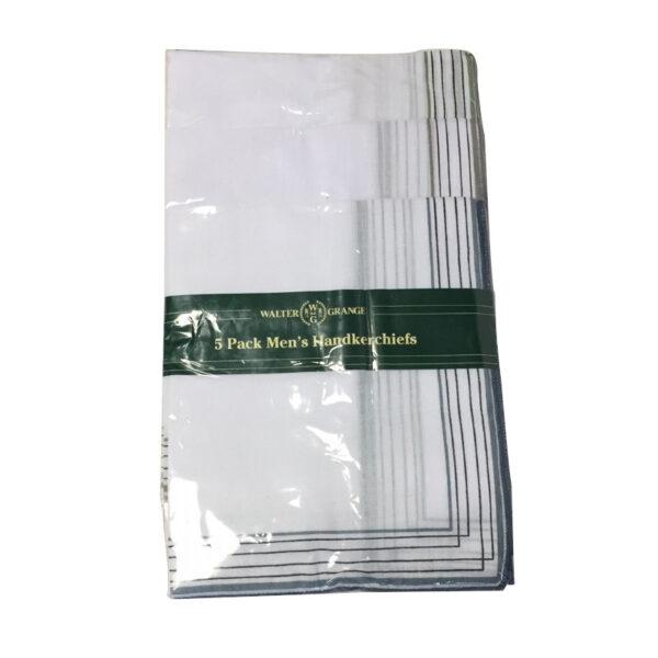 HK002_5Pack_mens_handkerchiefs_border