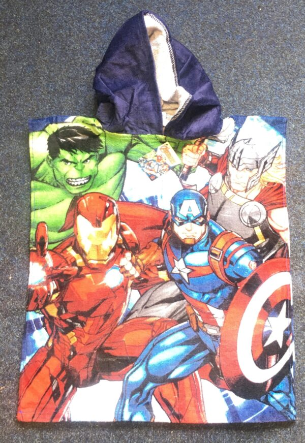 Avengers Group Poncho