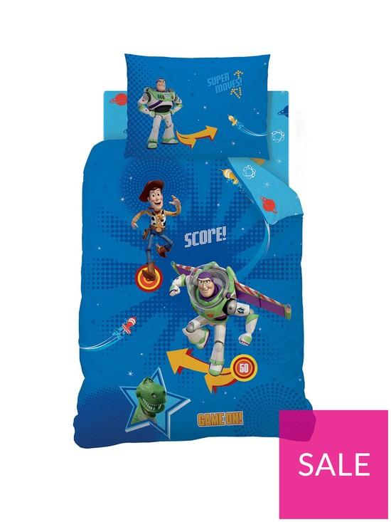 Toy story pinball duvet