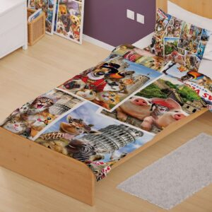 Around the World Quilt Cover Set