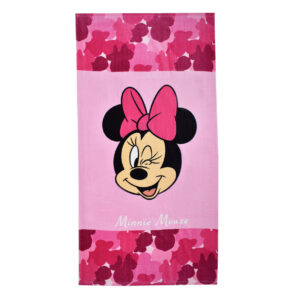 Winking Minnie Mouse Towel