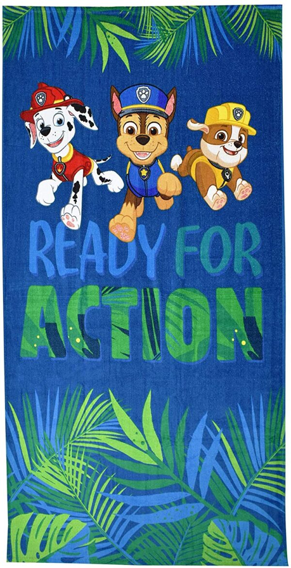 Paw Patrol Ready for Action Towel