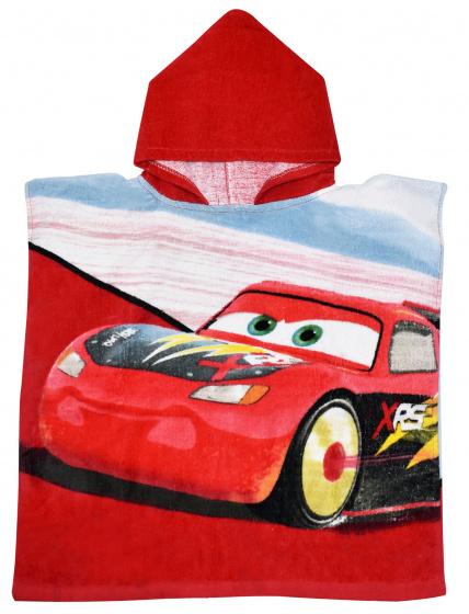 Cars Hooded Poncho